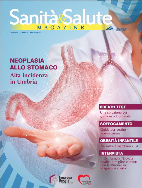 Copertina Brugnoni Group Sanità - Magazine n.1 anno 2 - Marzo 2018